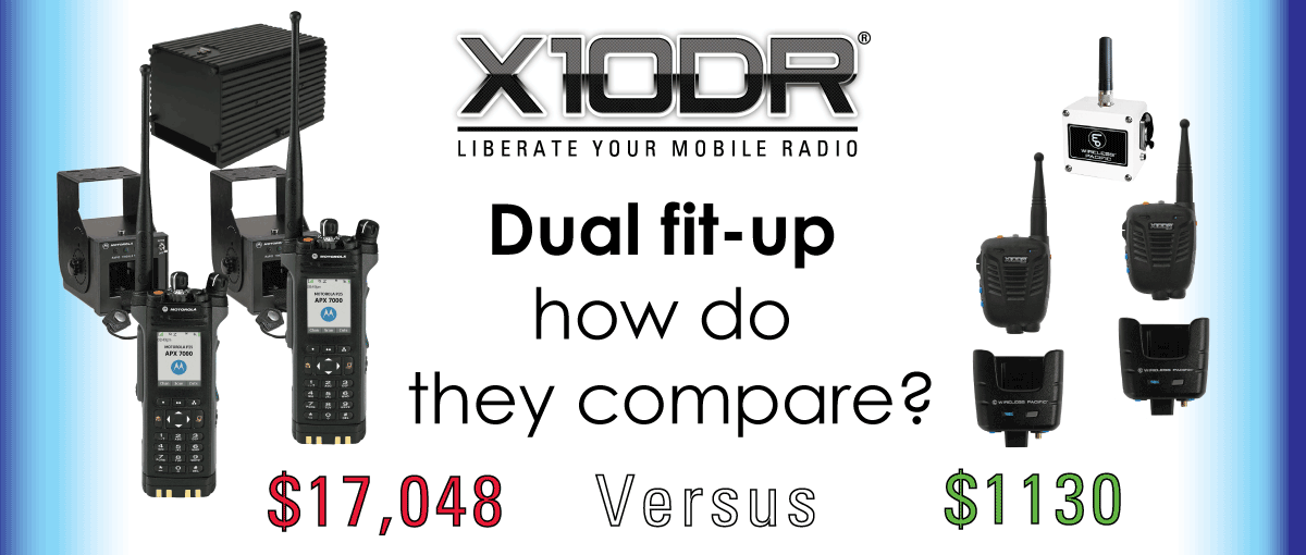 X10DR Digital Vehicular repeater DVRS